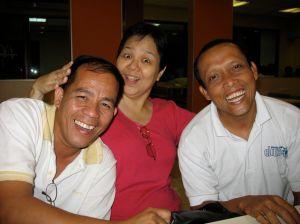 Bayani, Amy and Bert