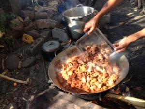 Caldereta in the wok