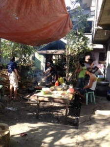 Outdoor kitchen in Tabuk