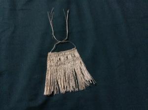 A weaving from the fiber of harakeke