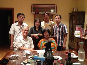Four Vietnamese friends in Melbourne