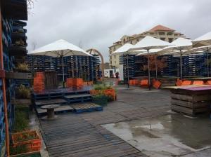 The pallet pavilion