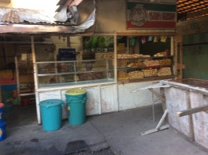 The bakery where we bought our pan de sal