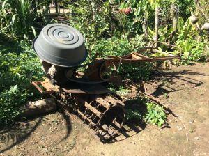 Tiller for rice paddies