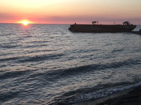 Sunset&Tanker