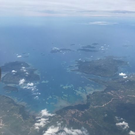 Islands from air